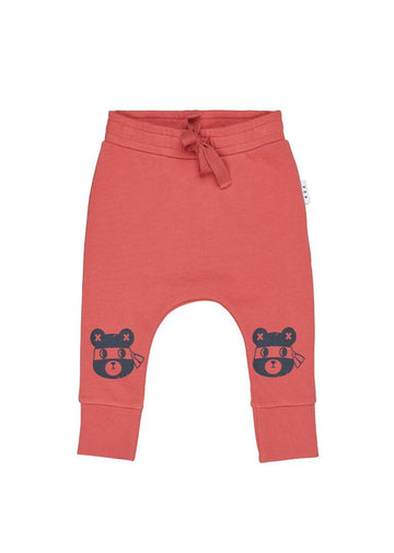 Ninja Bear Drop Crotch Pant Pants Huxbaby