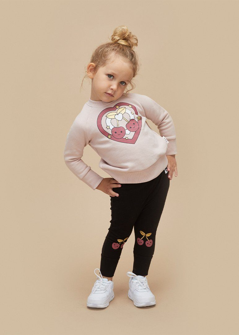 Cherry Knee Legging Pants Huxbaby