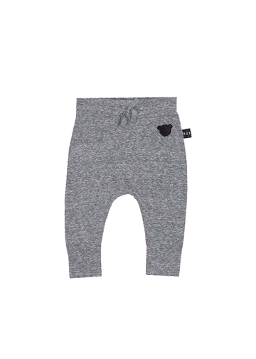 Charcoal Drop Crotch Pant Bottom Huxbaby