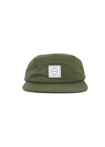 Waterproof Five-panel Hat - Moss Accessory Rad River Co.