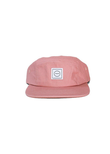 Cotton Five-panel Hat - Blush Accessory Rad River Co.