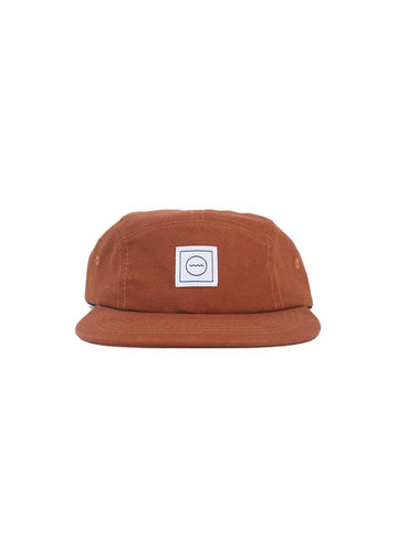 Cotton Five-panel Hat - Rust Accessory Rad River Co.