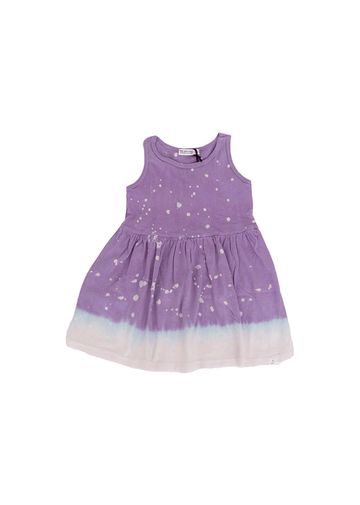 Jess Lilac Splatter Dress Dress Little Moon Society