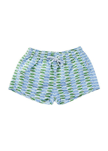 Kade Boys Swim Short - Vintage Car Swim Giggle