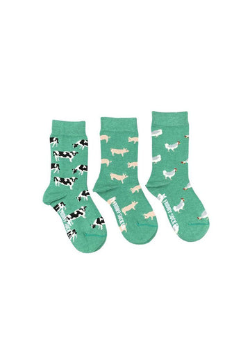 Farm Animals Sock Set Accessory Friday Sock Co.