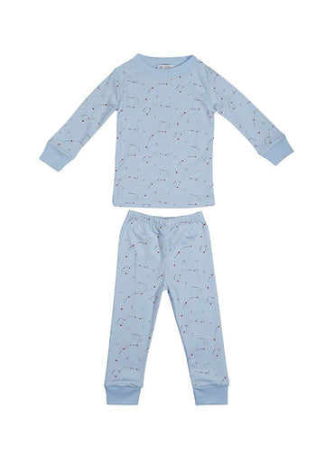 Blue Constellation Pajama Pajamas Giggle