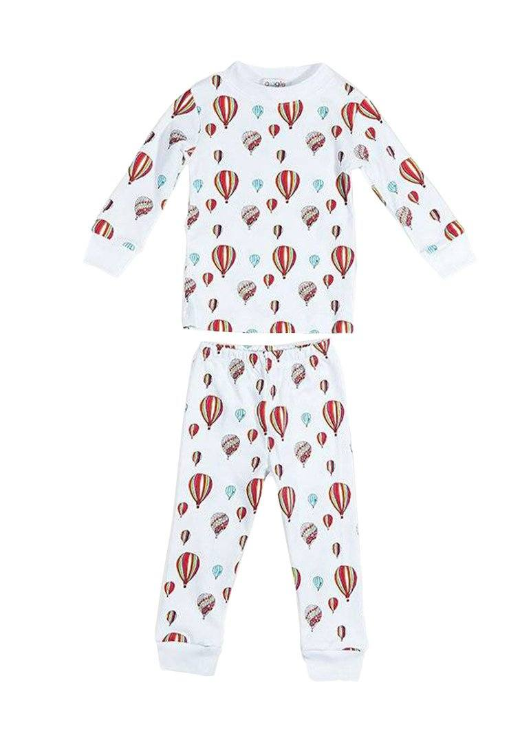 Rainbow Hot Air Balloon Pajamas Pajamas Giggle