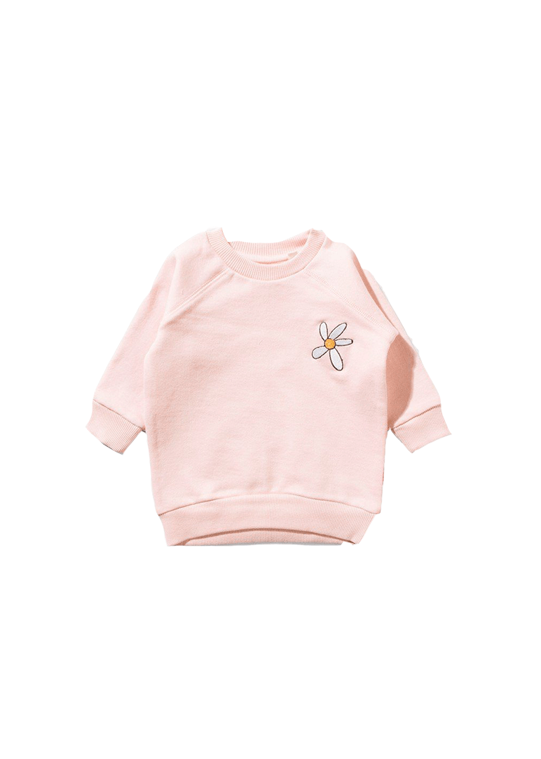 love me not fleece crew Sweater Munster Kids