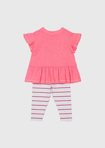 baby stripe legging set Set Splendid