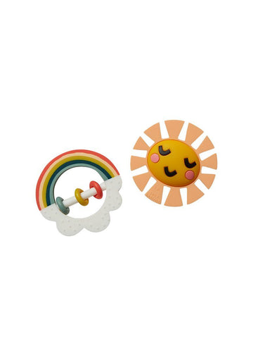 Little Rainbow Teether Toy Toy Lucy Darling