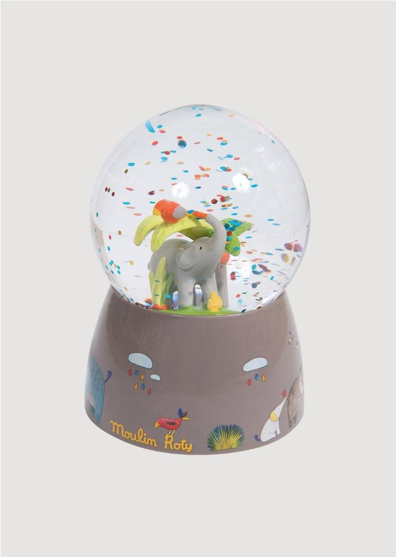 Musical Snow Globe Toy Moulin Roty
