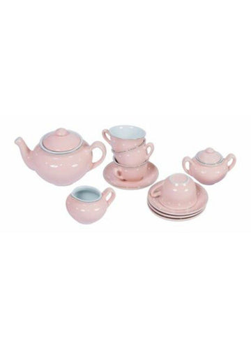 Fois Porcelain Tea Set, 10pcs Toy Moulin Roty