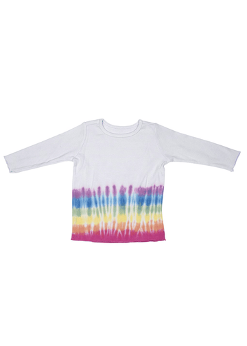 Coastline Long Sleeve - Lilac Rainbow Top Fairwell