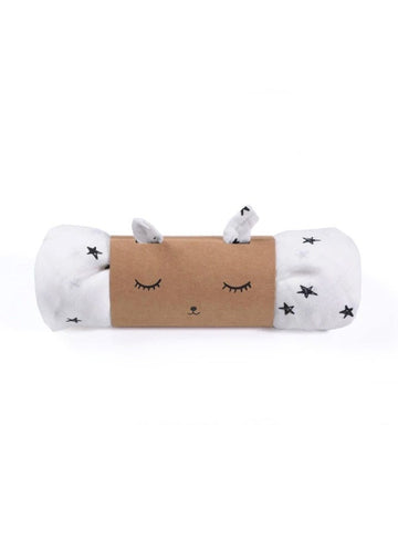 Organic Muslin Swaddle - Stars Toy Wee Gallery