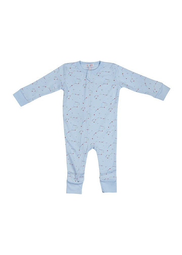 Blue Constellation Onesie Pajamas Giggle