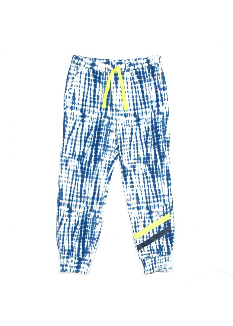 Chase Sweatpant - Navy Print Pants Egg New York