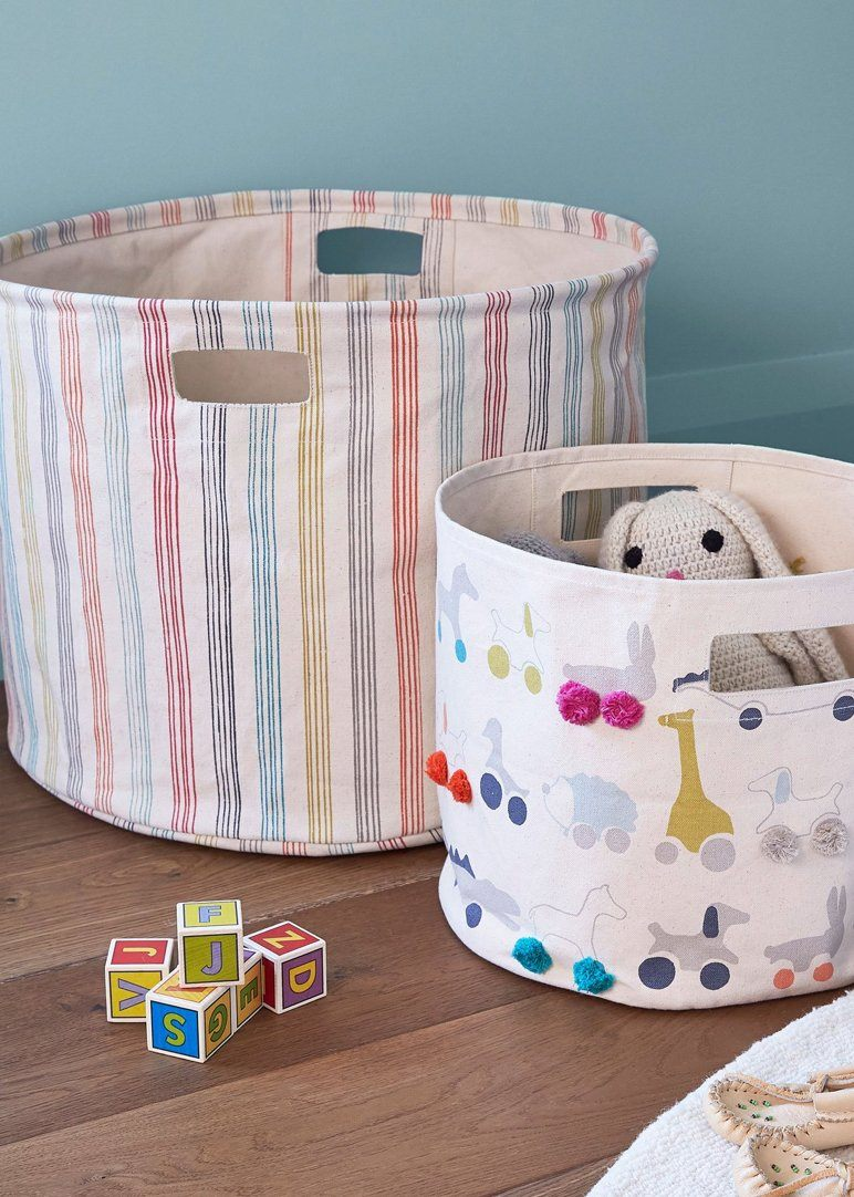 rainbow stripe pint Nursery Pehr