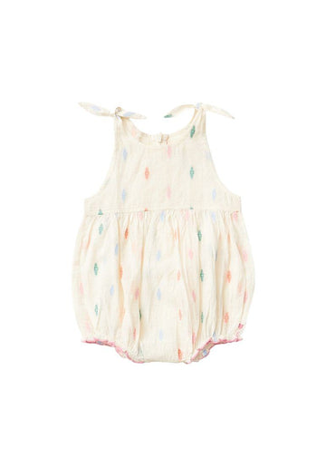 Taylor Bubble Romper PINK CHICKEN