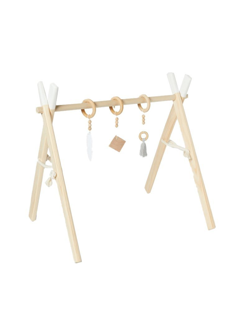 Activity Gym - White Toy Clover and Birch