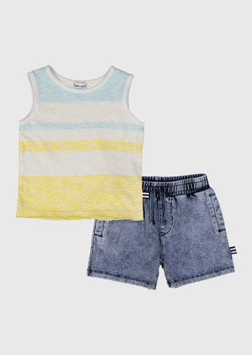 infant muscle tee set Set Splendid