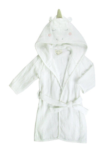 Unicorn Muslin Robe Bath Albetta