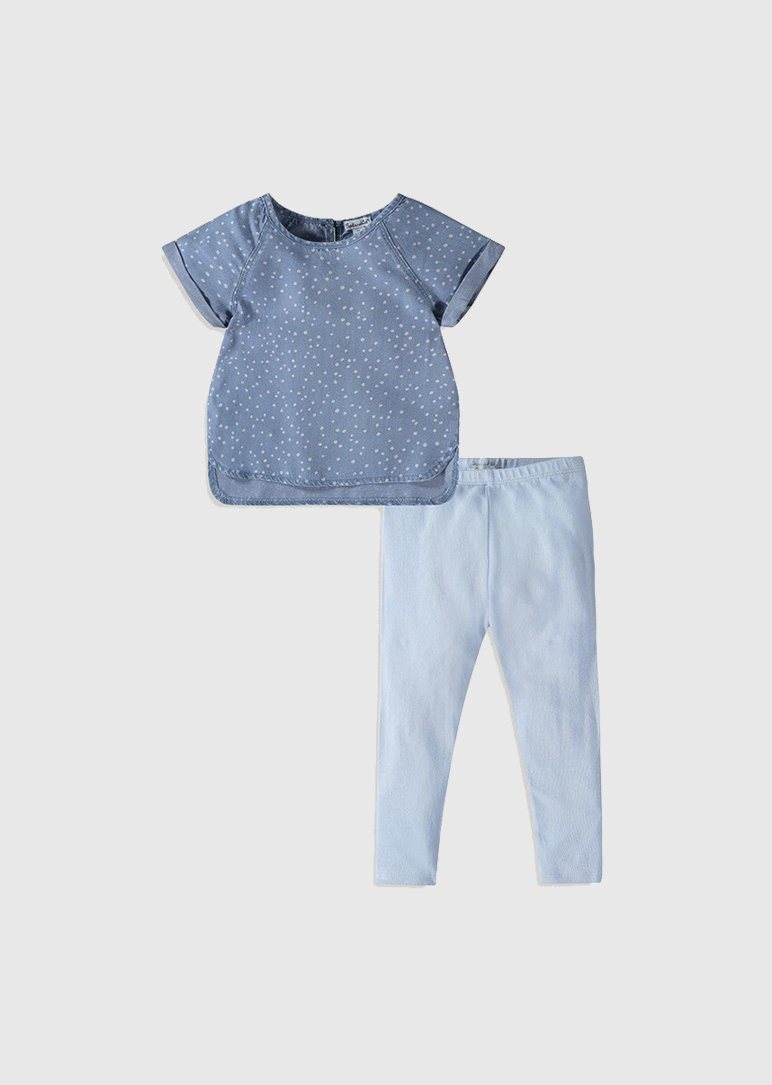 Chambray Legging Set Set Splendid