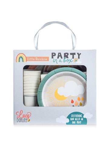 Little Rainbow Party in a Box Decor Lucy Darling
