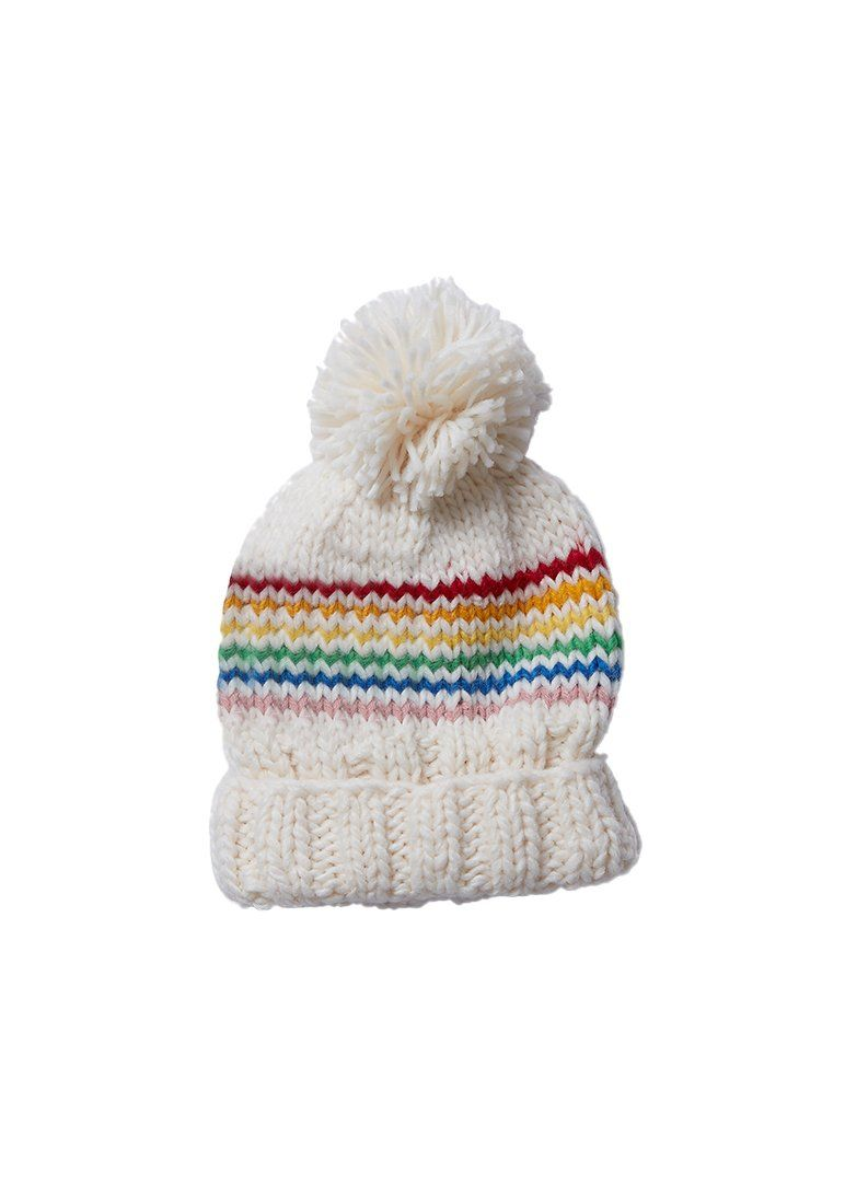 Reagan Rainbow Beanie Accessory The Blueberry Hill