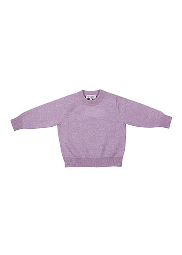 Rowan Cashmere Crew - Light Purple Sweater Giggle