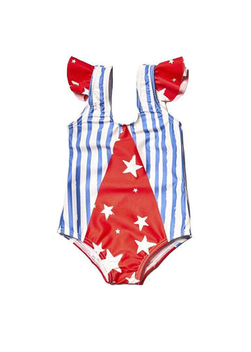 Olympic Prints Swim Suit Swim Noe and Zoe