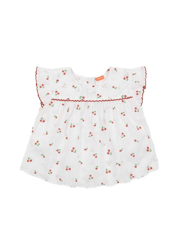 Cherries Cotton Top Top Sunuva