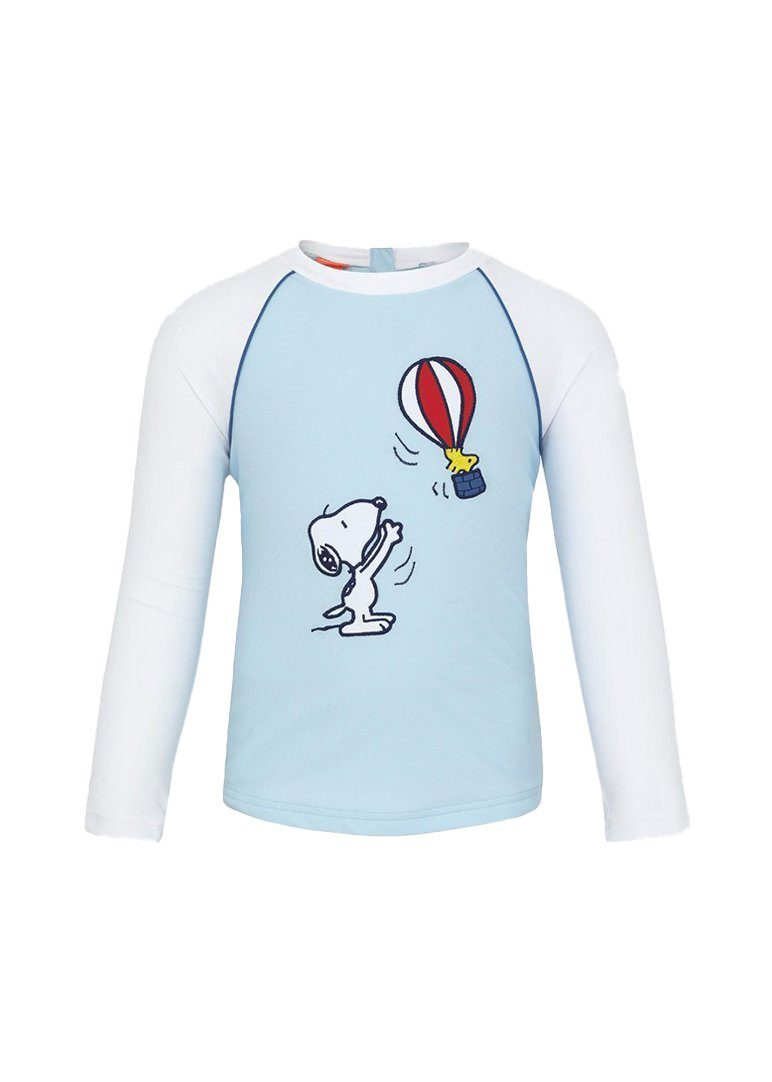 Snoopy Long Sleeve Rash Guard Swim Sunuva