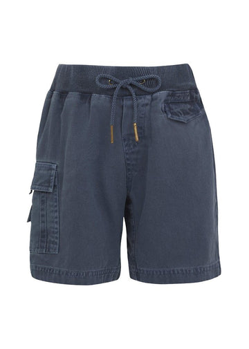 Navy Cargo Shorts Bottom Sunuva