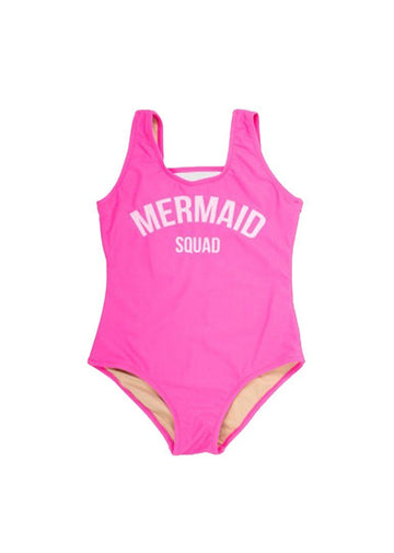 Mermaid Squad One Piece Swim Shade Critters