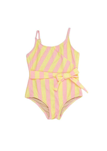 Springtime Wrap One Piece Swim Shade Critters