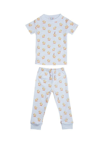 Duck Short Sleeve Pajama Pajamas Giggle