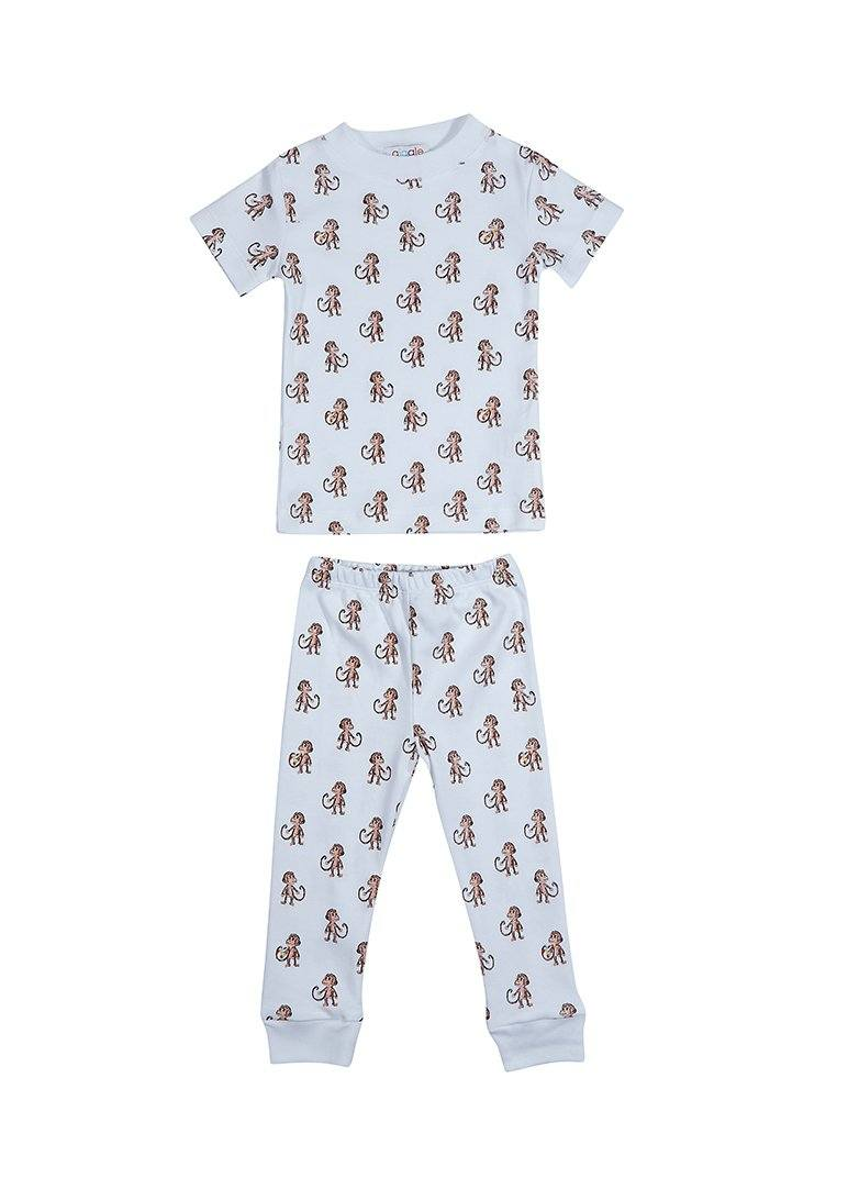 Monkey Short Sleeve Pajama Pajamas Giggle