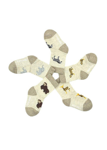 Zoo Baby Sock Set Accessory Friday Sock Co.