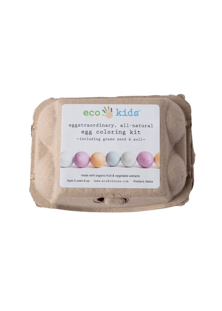 All-Natural Egg Coloring & Grass Seed Kit Toy eco-kids