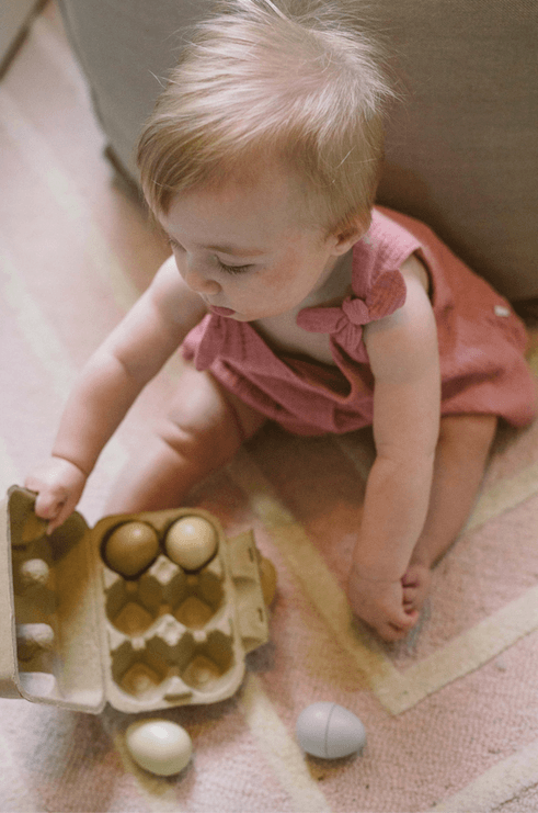 Wooden Eggs Toy Tender Leaf Toys