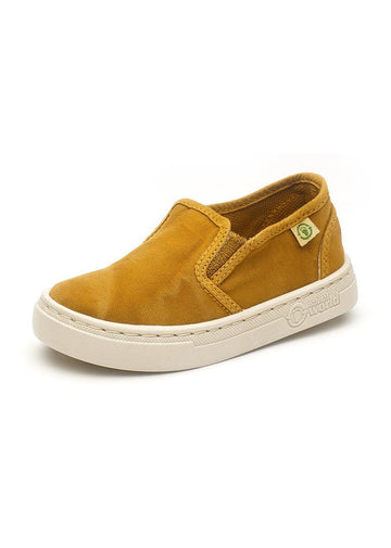 Old Neila Slip On Sneaker - Mustard Shoes Natural World Eco