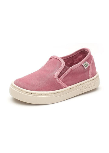 Old Neila Slip On Sneaker - Pink Shoes Natural World Eco