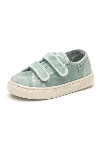 Old Leza Velcro Sneaker - Aqua Shoes Natural World Eco