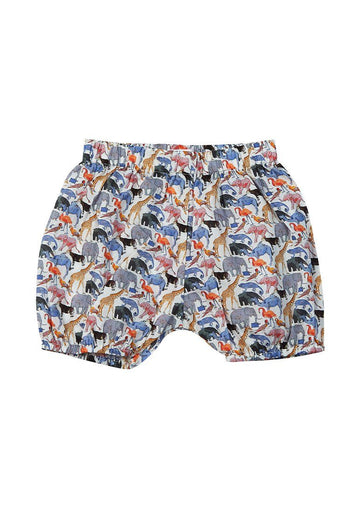 Shay Liberty Print Harem Short - Animal Bottom Giggle