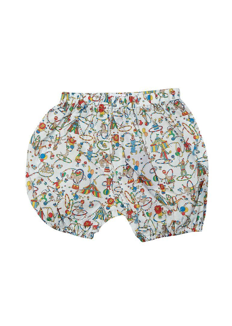 Shay Liberty Print Harem Short - Circus Bottom Giggle