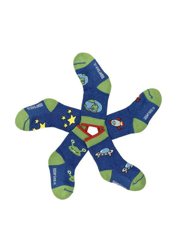 Space Baby Sock Set Accessory Friday Sock Co.