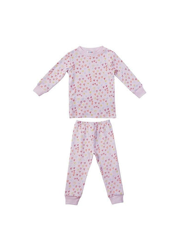 Sprinkle of Hearts Pink Pajama Pajamas giggle