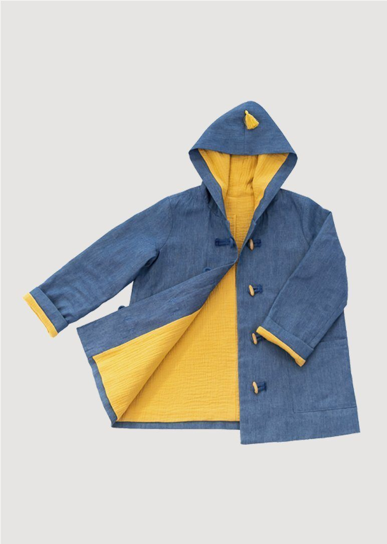 denim sunshine jacket Outerwear Leah and Rae