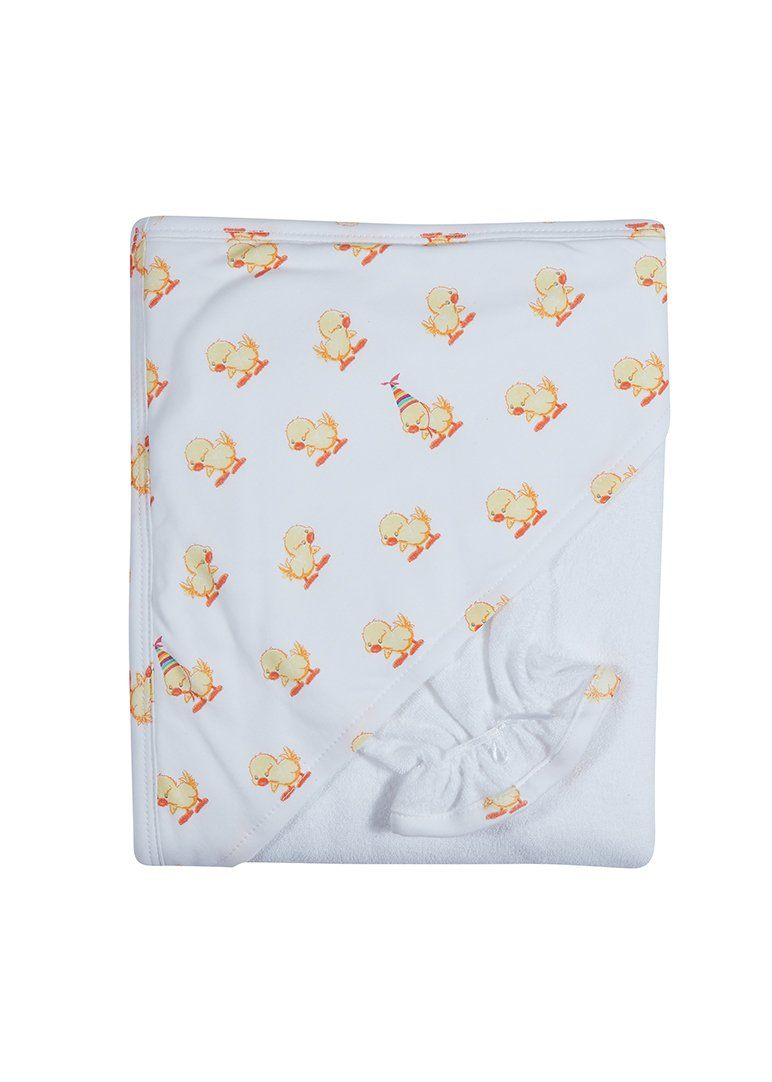 Duck Terry Towel with Mitt Set Towel Giggle