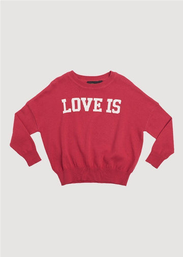 love is knit pullover Sweater Rock Your Baby